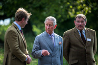 HRH Prince of Wales Dales Pony Society and Ure Salmon Trust Visit 2015